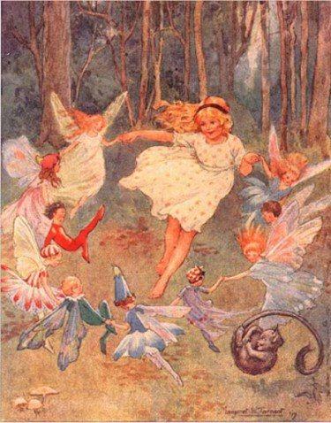 Fairies_dance_in_the_woods_margaret_tarrant