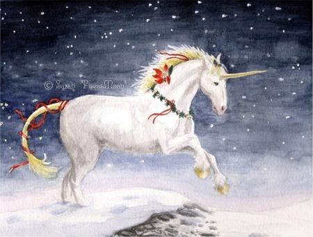 Unicorn_-_xmas
